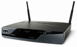 Cisco: 877W Configure Wireless and Wired on Single Subnet