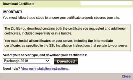 Steve Hardie » How To: Renew a GoDaddy Exchange 2010 SSL